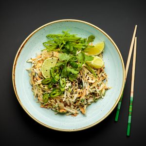 The Whole Foodies Pad Thai