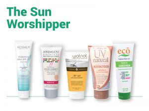 Summer products - The Sun Worshipper