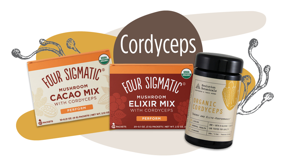 Cordyceps functional mushroom products - Unique Health Products