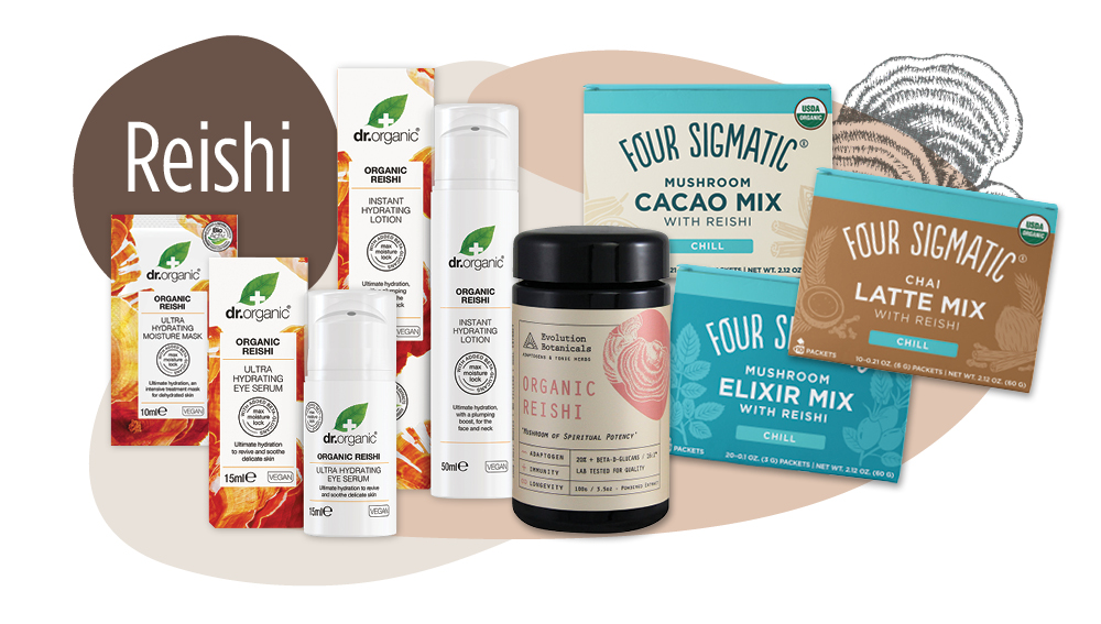 Reishi functional mushroom products - Unique Health Products
