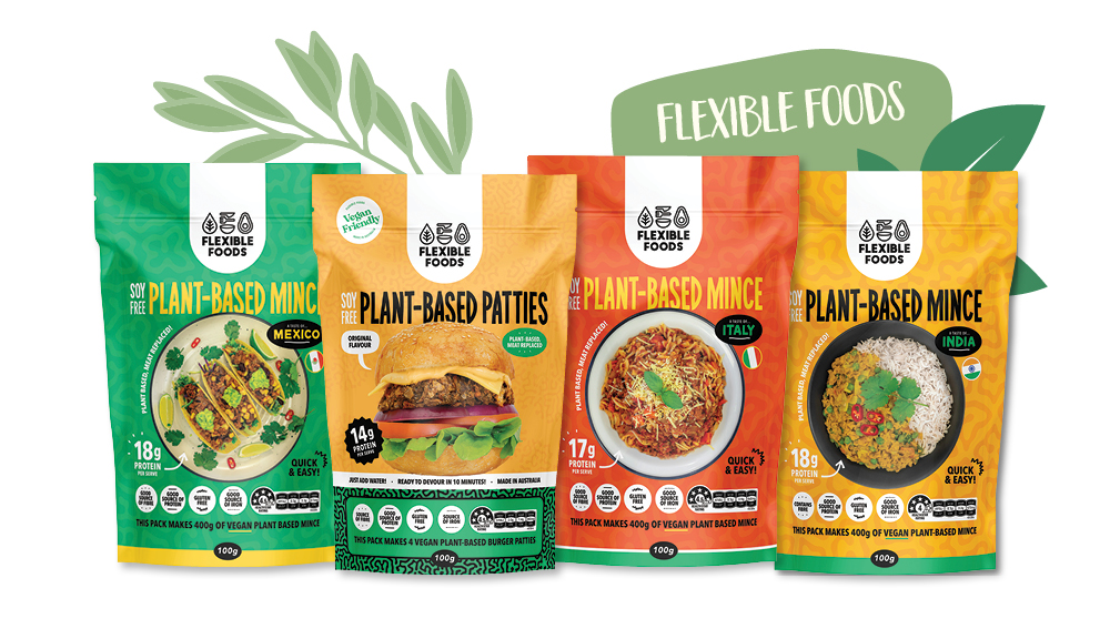 Flexible Foods plant-based meat alternatives