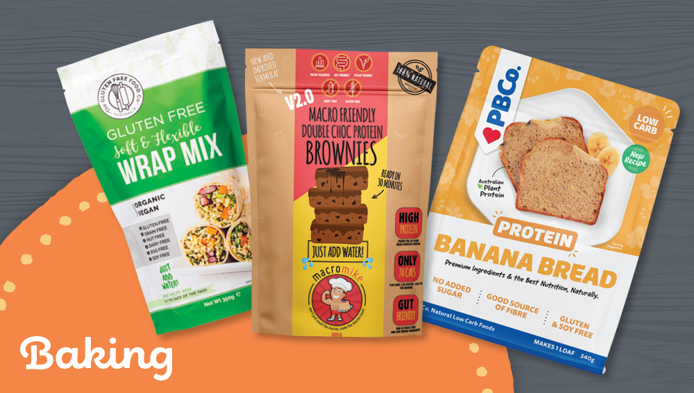 Gluten-free wholesale baking products
