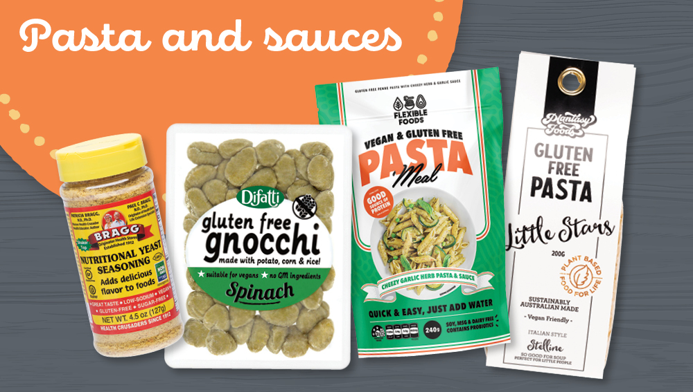 Gluten-free wholesale pasta and sauces
