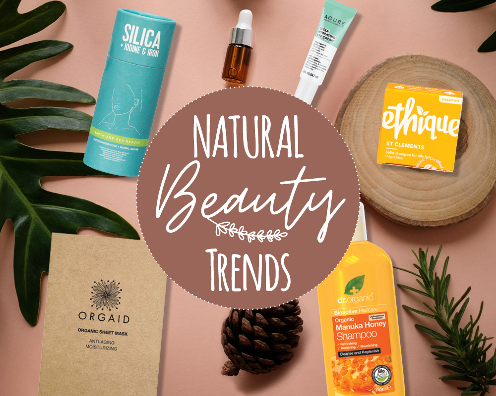 Natural beauty trends