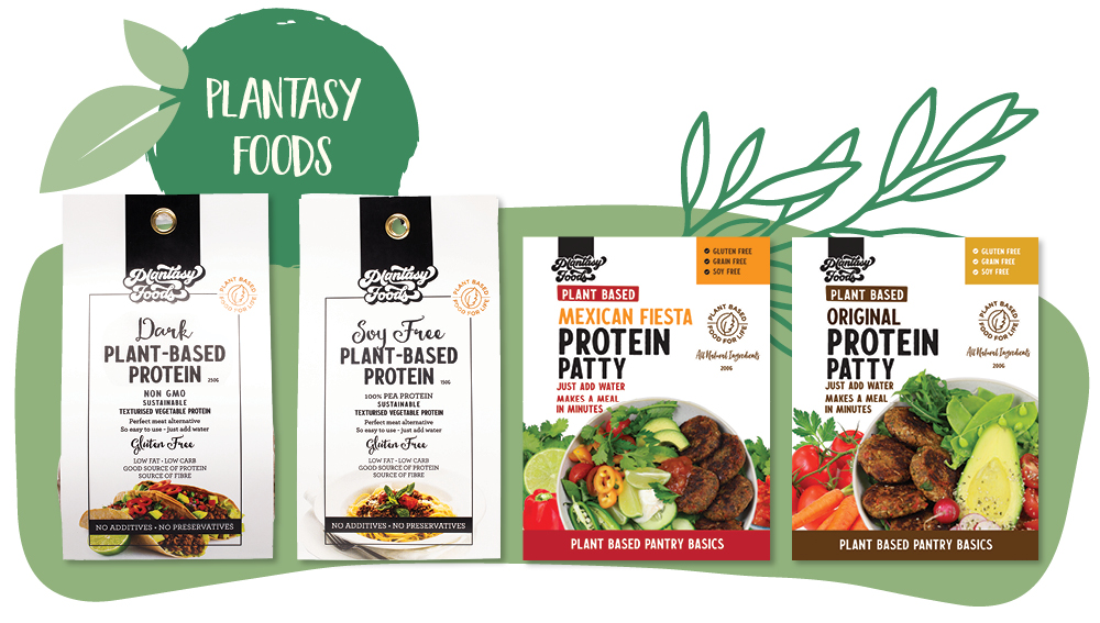 Plantasy Foods plant-based meat alternatives