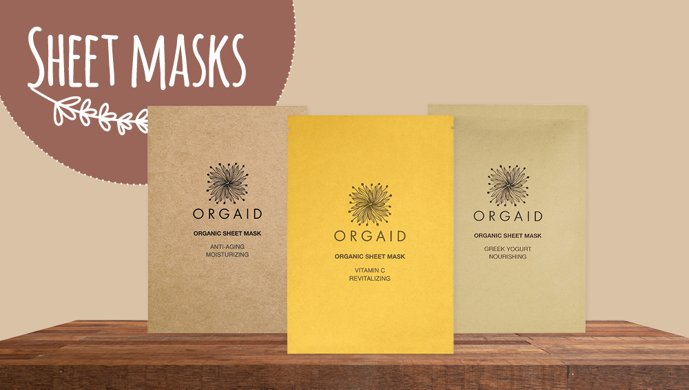 Natural sheet masks