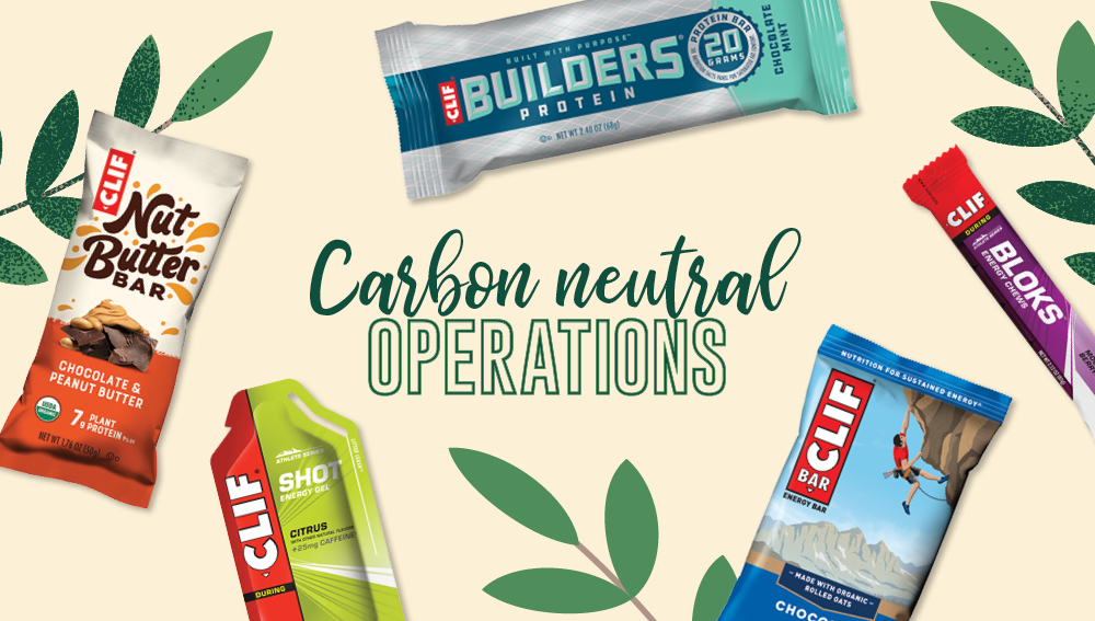 Sustainable brands with carbon neutral operations