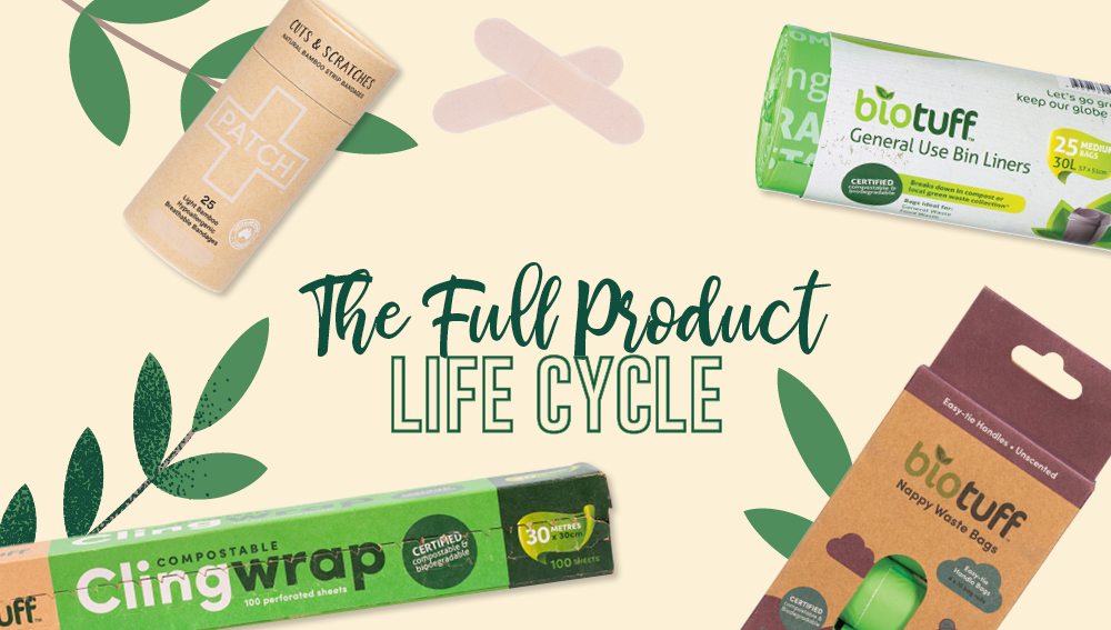 Sustainable brands that consider the full product life cycle