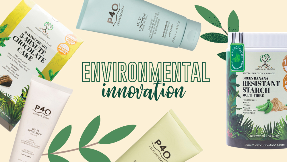 Sustainable brands showing environmental innovation