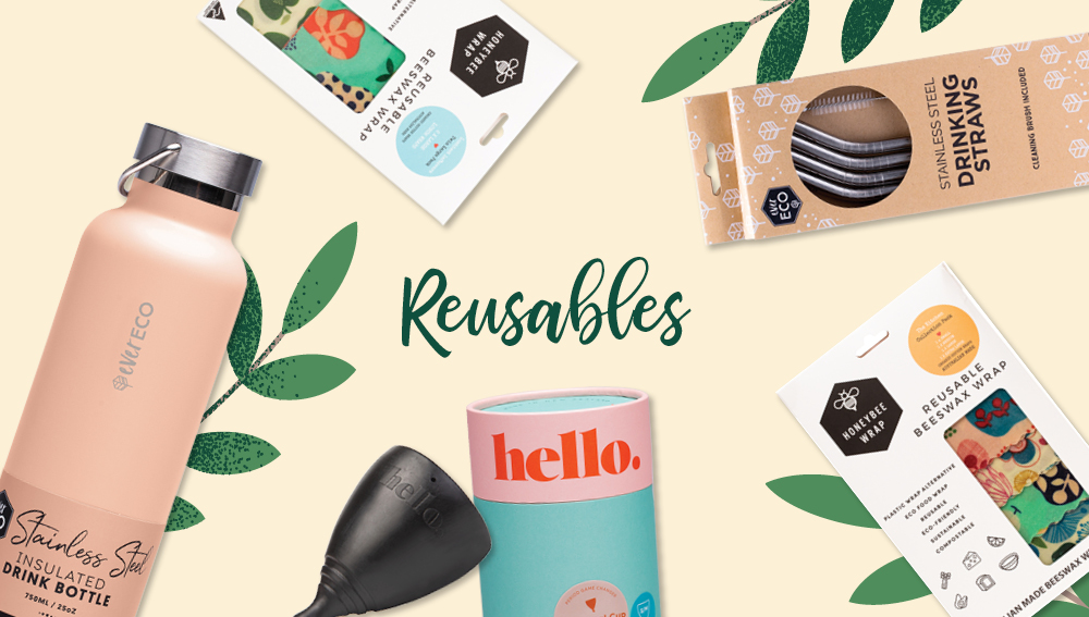 Sustainable brands that make reusables