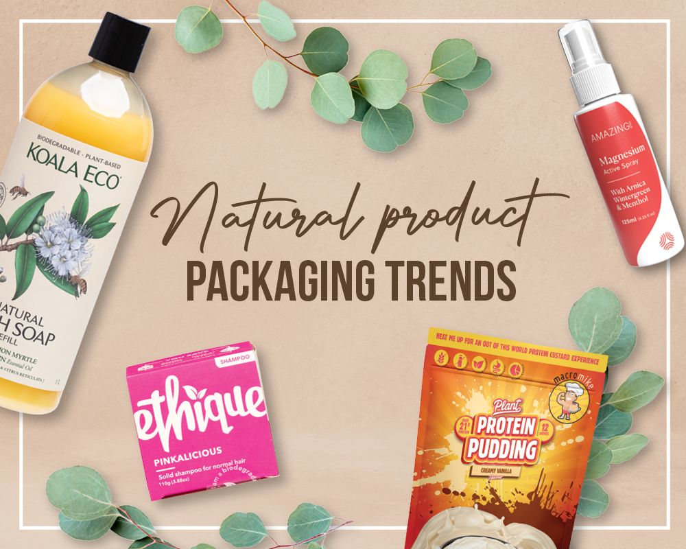 Natural product packaging trends   Unique Health Products