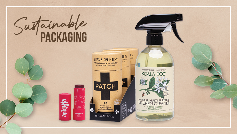 Sustainable natural product packaging