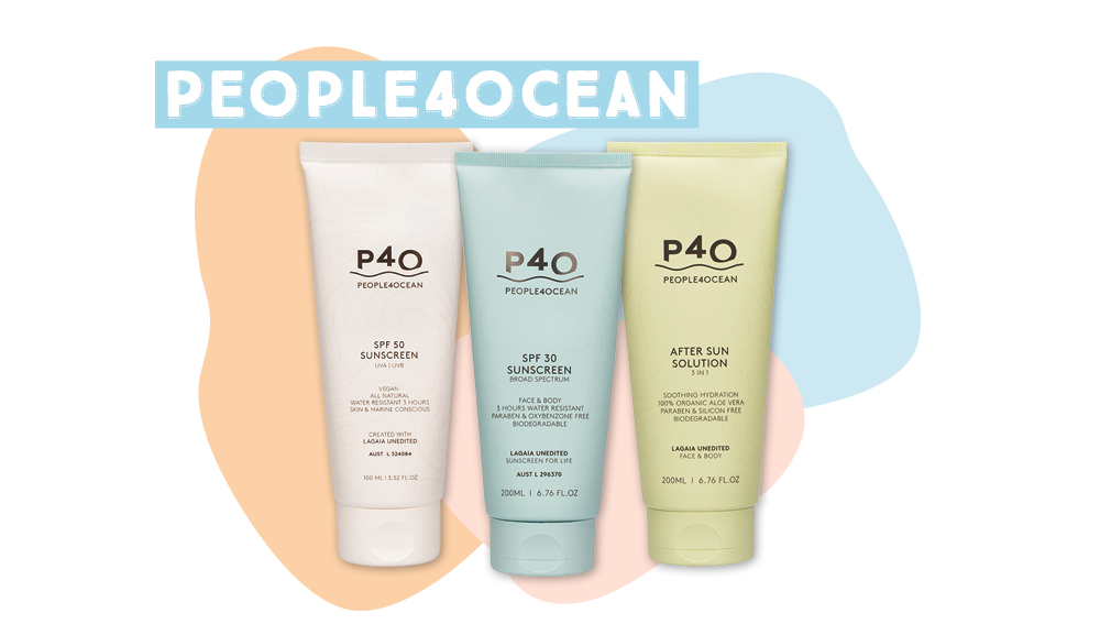 People4Ocean physical sunscreen